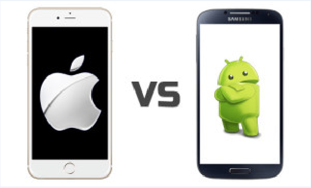 Comparison of Android Phones and iOS phones